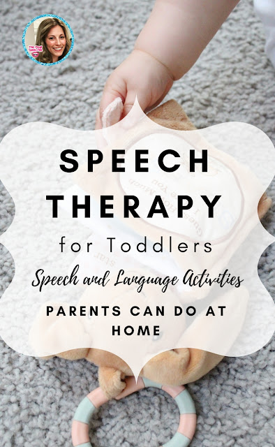 speech therapy for toddlers! speech and language activities to try at home!