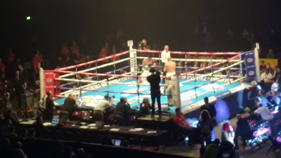 Indian Boxer Vijender Singh at Manchester Arena UK