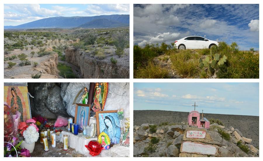 Dans le désert et Peguis canyon