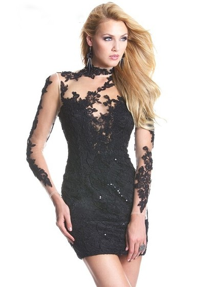 http://www.dressfashion.co.uk/product/sheath-column-black-tulle-with-appliques-lace-high-neck-long-sleeve-short-prom-dress-02016428-9574.html?utm_source=minipost&utm_medium=2188&utm_campaign=blog