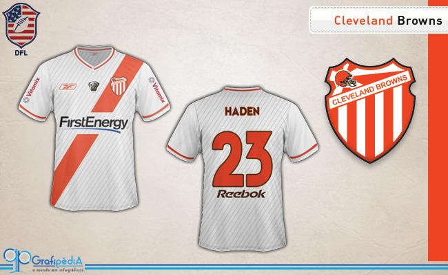 eccf90fb55 Equipes de futebol americano ganham camisas de clubes da Série D ...