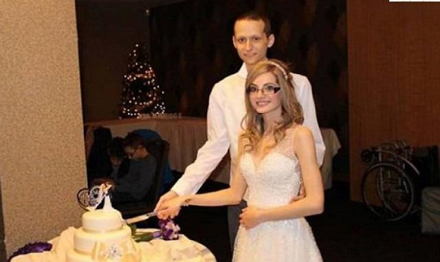 تزوجته رغم أن الأطباء أخبروه بأنه سيعيش  6 أشهر .. ما حصل بعد 17 يوما كان مأساويا!!