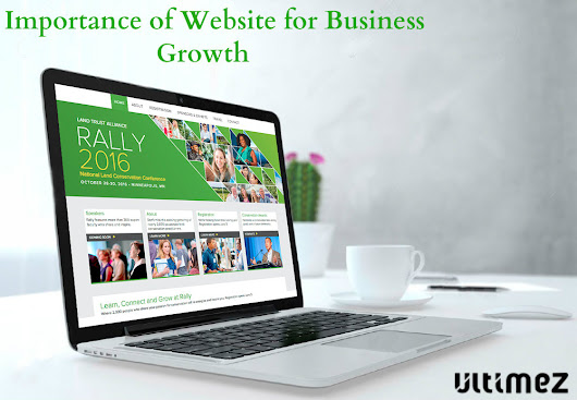 Importance of website for business growth