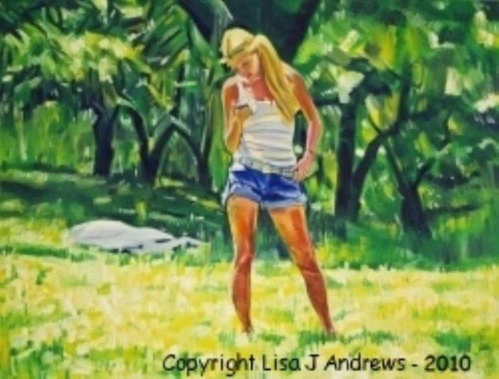 Зеркало моей энергии и эмоций. Lisa J Andrews