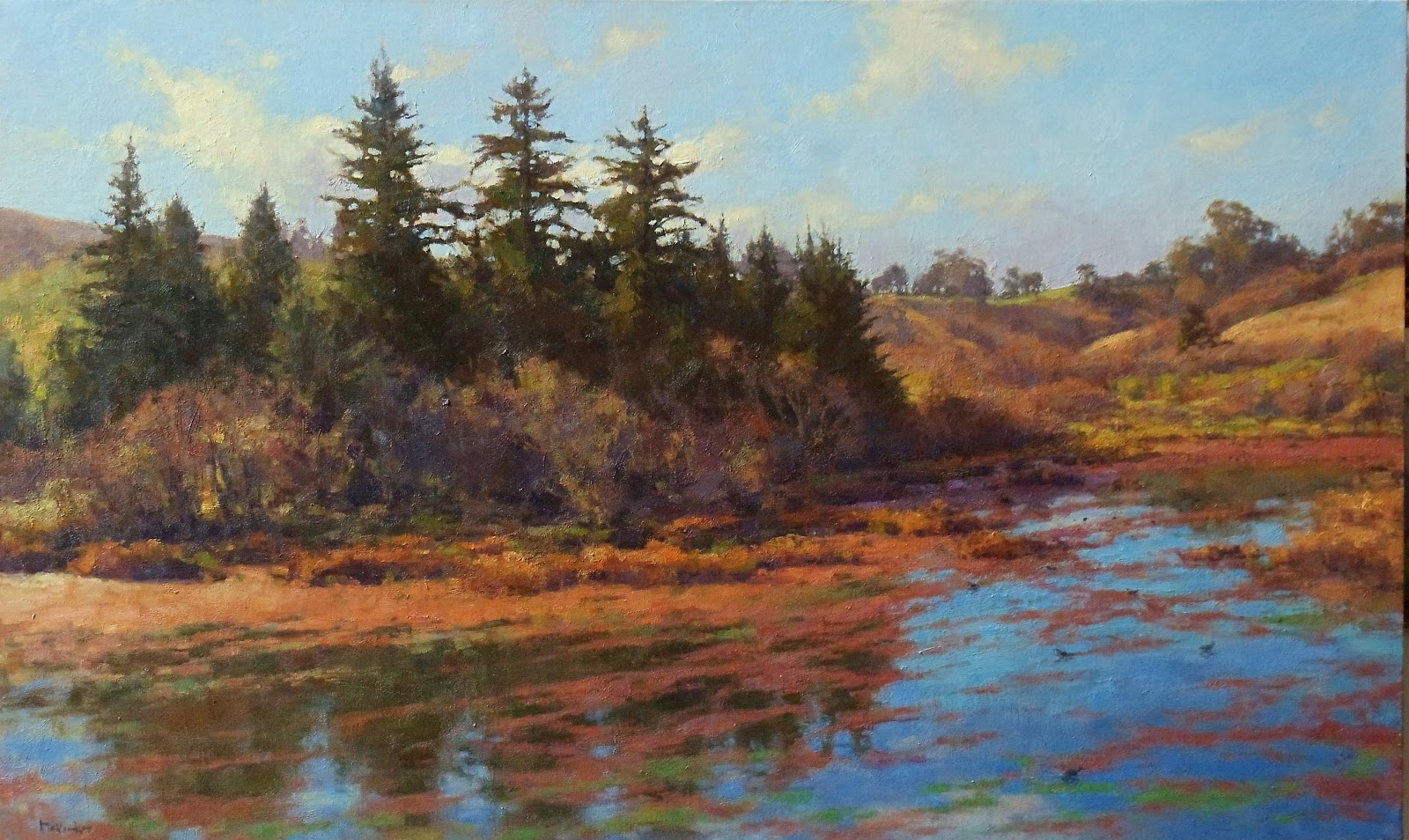 Jim Mcvicker Paintings Recent Landscape Paintings