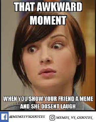 Funny awkward meme