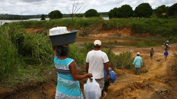 ANA estima que famílias de áreas evacuadas em Ubajara poderão voltar para casa em 24 h