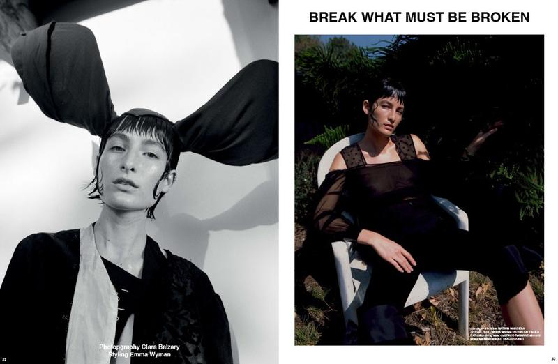 Heather Kemesky by Clara Balzary for Re-Edition No.4