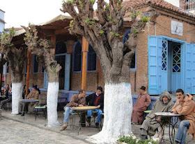 Bar en Chefchaouen, Marruecos