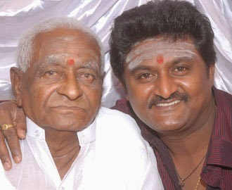 Komal with father