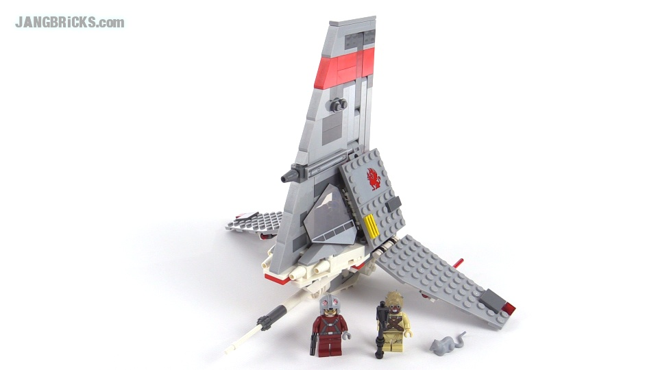 Lego Star Wars T 16 Skyhopper Review Set 75081 They were slightly larger than two meters in size. jangbricks lego reviews mocs