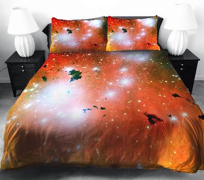 posteljina sa zvijezdama