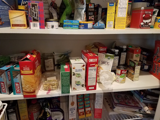 Before Tidying UP-The Pantry