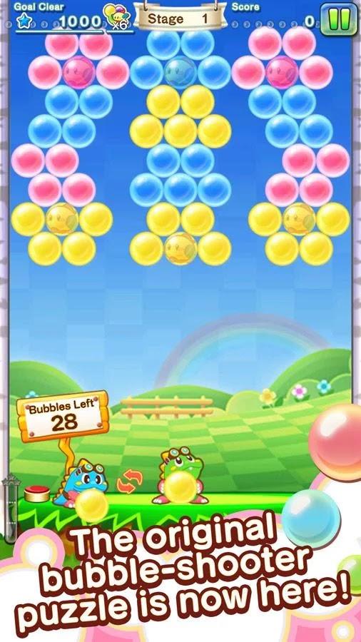 Puzzle Bobble Journey ya disponible para teléfonos móviles