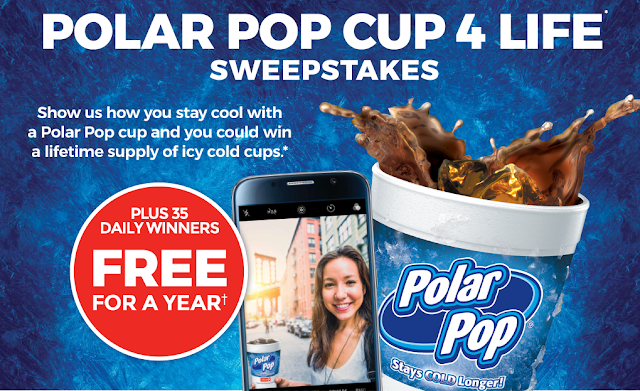 Win Circle K #PolarPopCup4Life