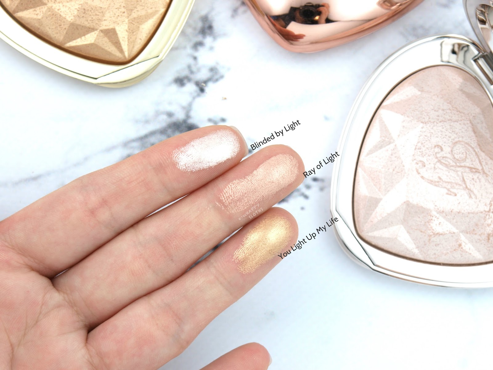 Too Faced Love Light Prismatic Highlighter: Review and Swatches