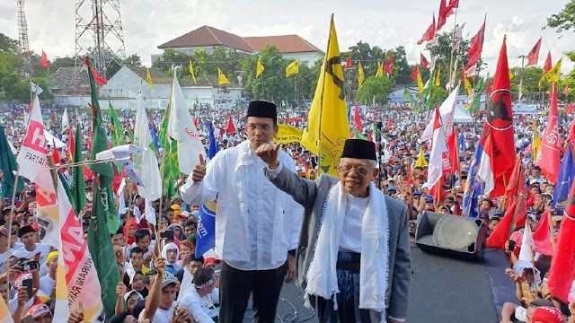Viral! Video Kampanye TGB Sebut Jokowi Kalah Telak