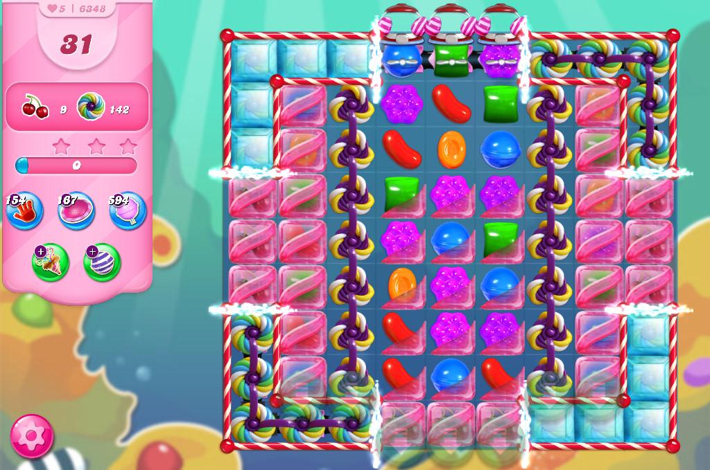Candy Crush Saga level 6348