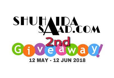 Shuhaidasaad.com 2nd Giveaway