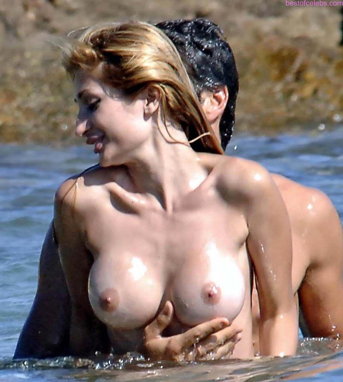caught nude