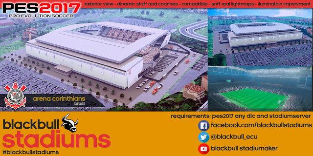 New Arena Corinthians PES 2017
