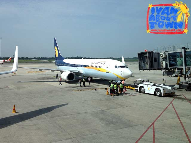 Jet Airways Delhi Srinagar flight