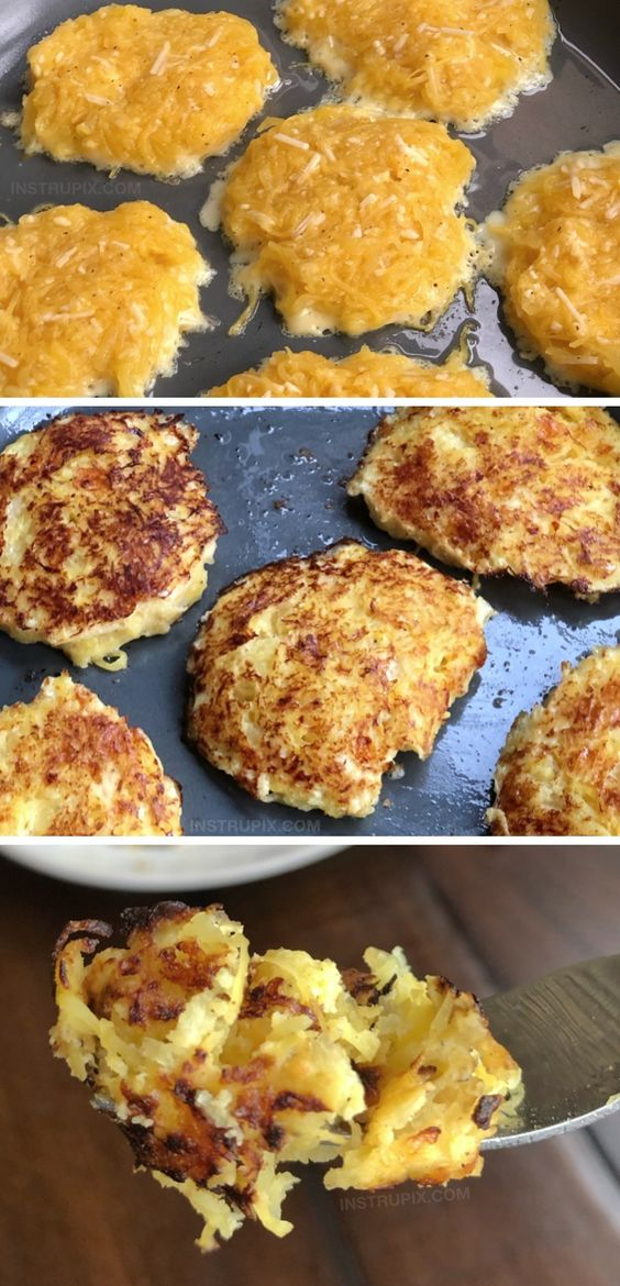 Low Carb Spaghetti Squash Hash Browns (Keto Friendly)
