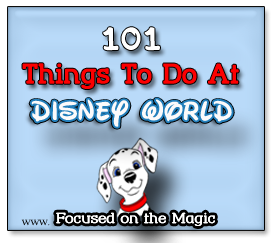 Counting Down To Our Disney Vacation Focused On The