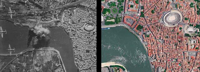 Arles bombed
