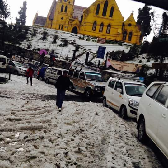 Hailstone in Darjeeling 5
