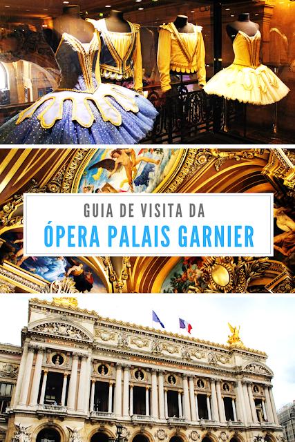 Guia de visita da Opéra Palais Garnier em Paris