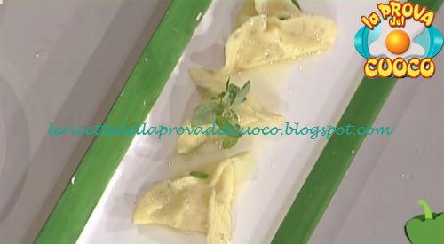 Ravioli alla caciotta di Pienza ricetta Gandola da Prova del Cuoco
