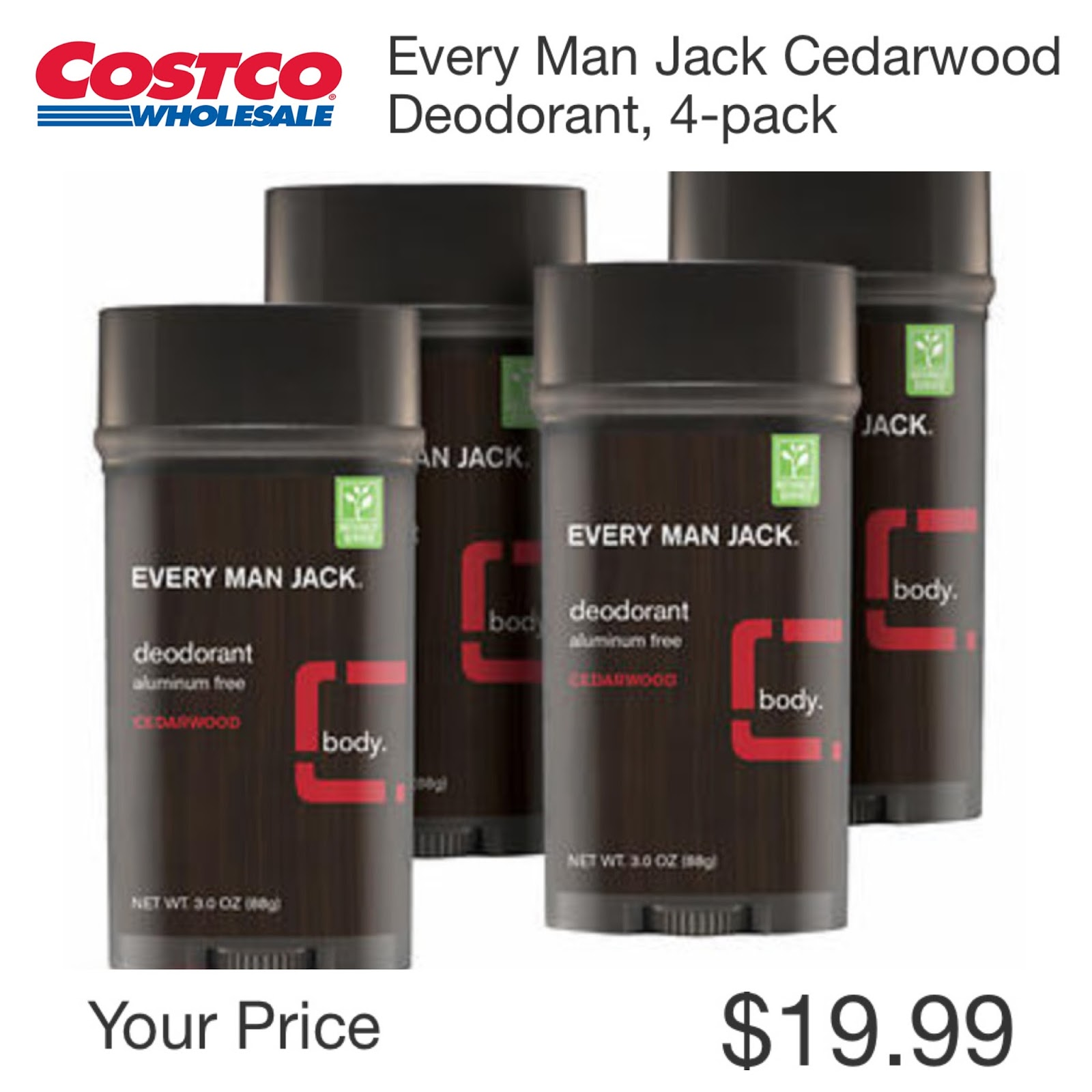 Natural, Aluminum Free Deodorants at Costco! – The Costco Connoisseur