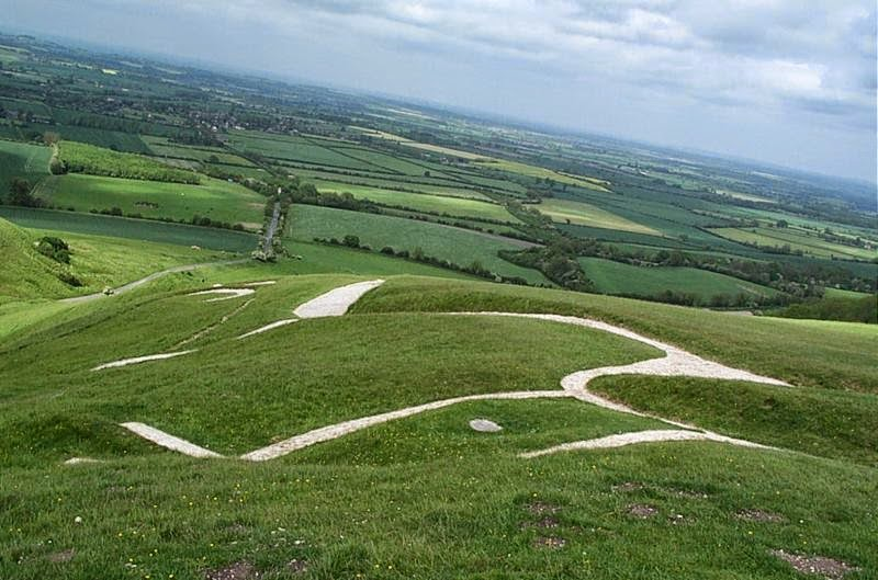 The White Horse of Uffington, England