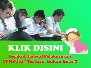 info jadwal cpns 2017