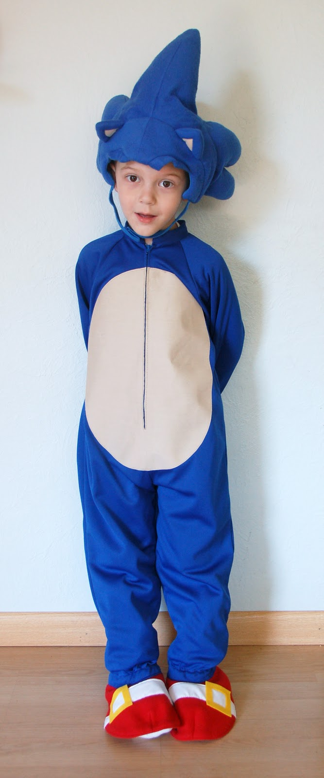 The Almost Perfectionist Sonic The Hedgehog Halloween Costume