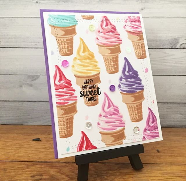 Sunny Studio Stamps: Sunny Saturday Share Customer Card by Andrea S