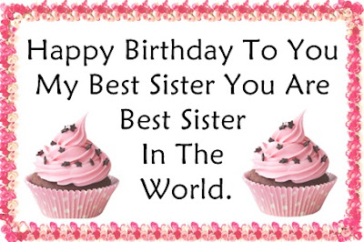 Happy Birthday Wishes for Sisters - Happy Birthday Quotes for Sisters