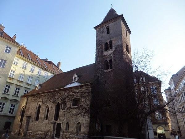 Vienne Wien Innere Stadt église saint-rupert ruperchtskirche