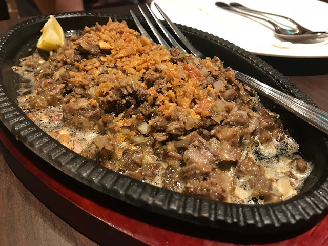 Sizzling Beef Sisig