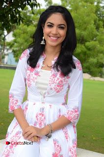 Actress Rithu Varma Pictures in Floral Dress at Pelli Choopulu Movie Press Meet  0056.JPG
