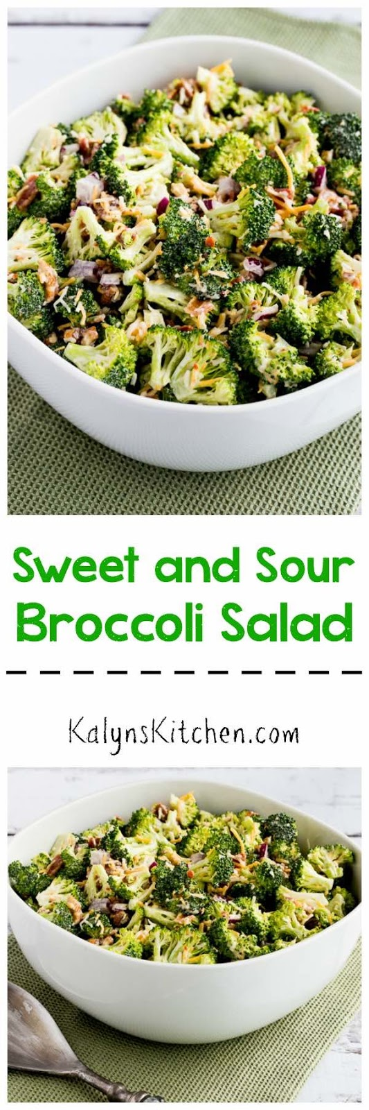 Barely-Blanched Broccoli Salad With Feta And Fried Almonds Recipe ...