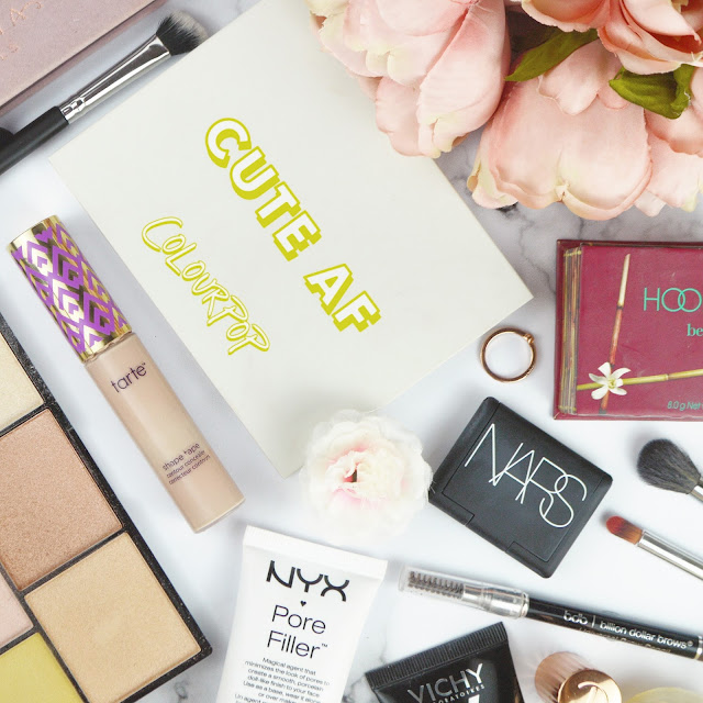 Best in Beauty Makeup Products Flatlay 2017 Lovelaughslipstick Blog