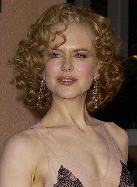 short curly hair women