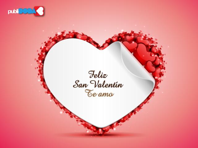 Feliz San Valentin Tarjetas