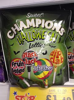 champions halloween lollies