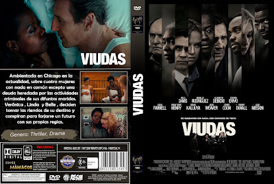 CARATULA VIUDAS - WIDOWS - 2018 [COVER DVD]