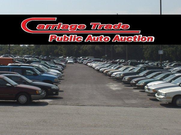 Public Auto Auction >> Carriage Trade Public Auto Auction