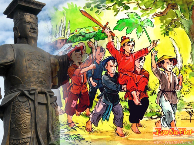 yêu sử việt, lịch sử việt nam, đinh tiên hoàng, đinh bộ lĩnh, loạn 12 sứ quân, cố đô hoa lư