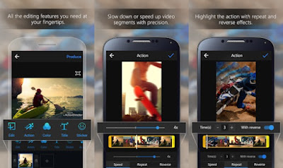 ActionDirector Video Editor - aplikasi edit video